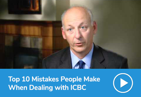 Top 10 Mistakes People Make When Dealing with ICBC
